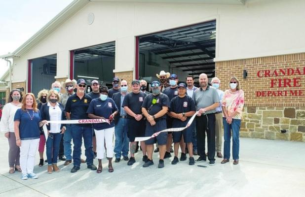 Crandall Fire and Police Departments Host Grand Opening Ceremony for New Buildings
