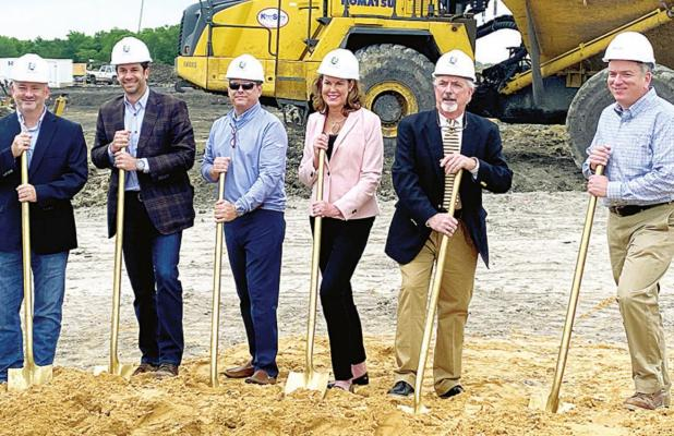 Crandall ISD Breaks Ground on New Middle School