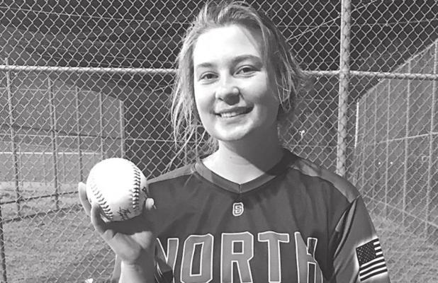 Lancaster Can't Stand Up To Perfect Pitching By Gunn From North Forney Lady Falcons Varsity