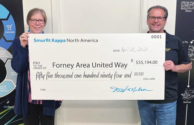 Smurfit Kappa Makes Record-Breaking United Way Donation