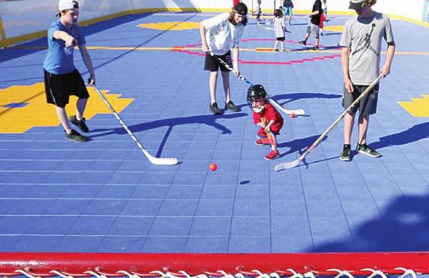 Dek Hockey Arrives in Forney