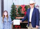 Texas Association of Sheriffs Awards Scholarship to Local Student